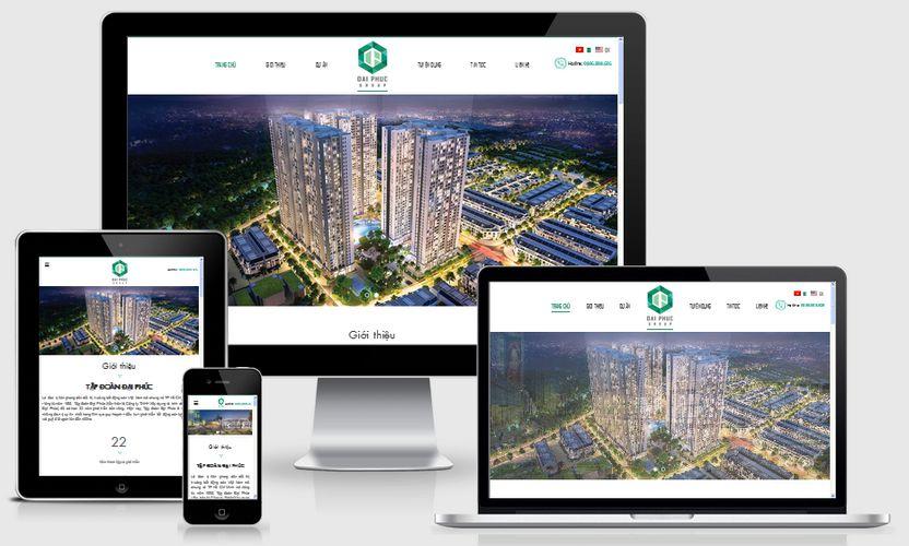 Fullcode website bất động sản FC119 1