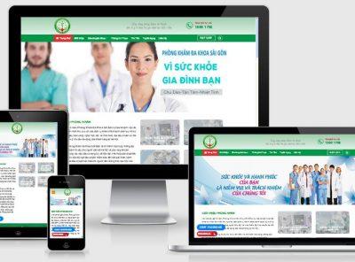 Fullcode website phòng khám đa khoa FC120 4