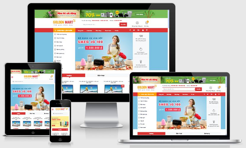Fullcode website bán hàng điện máy FC092 1