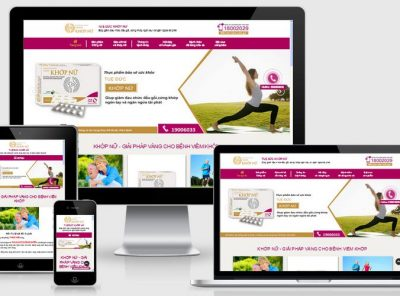 Fullcode website bán thuốc dược phẩm đau khớp FC176 6