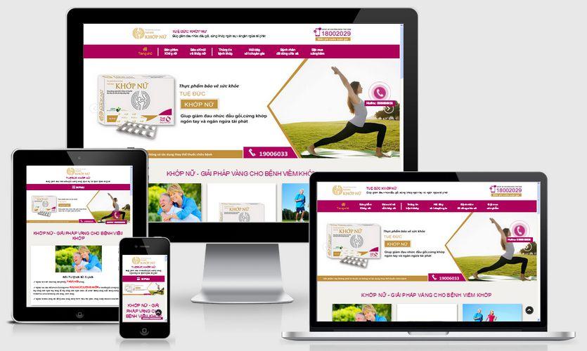 Fullcode website bán thuốc dược phẩm đau khớp FC176 1