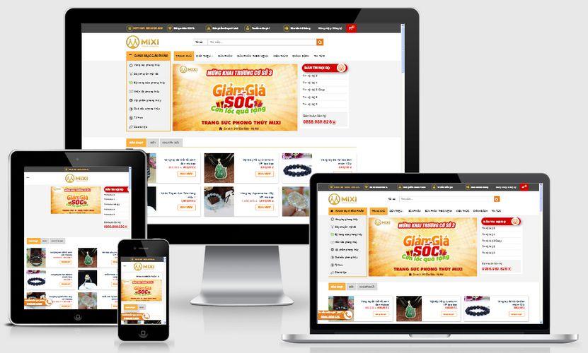 Fullcode website trang sức phong thủy FC112 1