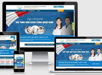 Fullcode website phòng khám nha khoa FC113 7