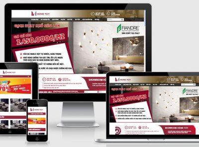 Fullcode website bán hàng nội thất FC096 3