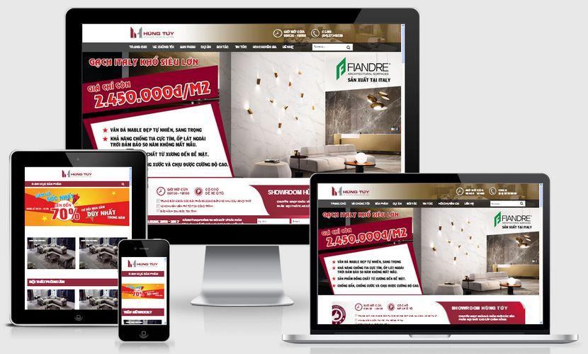 Fullcode website bán hàng nội thất FC096 1