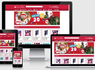 Fullcode website bán hàng quà tặng FC097 7