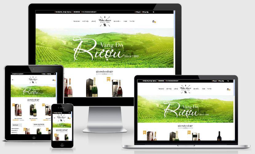 Fullcode website bán rượu bia FC098 1