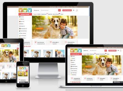 Fullcode website bán thú cưng FC114 2