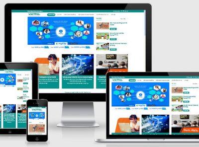 Fullcode website dịch vụ viễn thông FC116 20