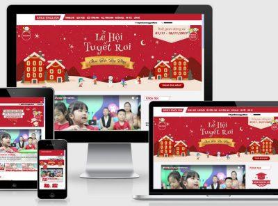 Fullcode website trung tâm anh ngữ FC136 13