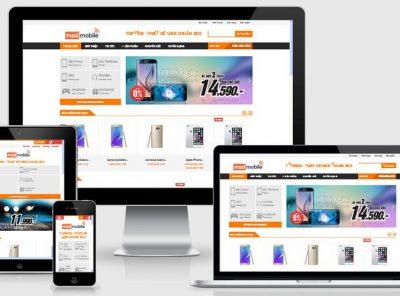 Fullcode website bán điện thoại đẹp FC125 3