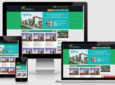 Fullcode website bất động sản đẹp FC131 27