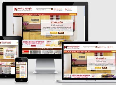 Fullcode website bán kính nội thất FC126 2