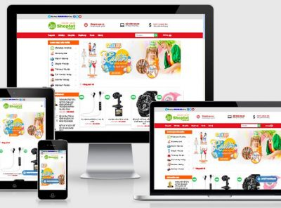 Fullcode website bán hàng siêu thị FC127 2