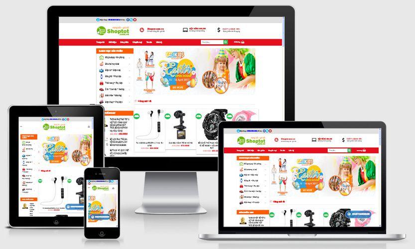 Fullcode website bán hàng siêu thị FC127 1