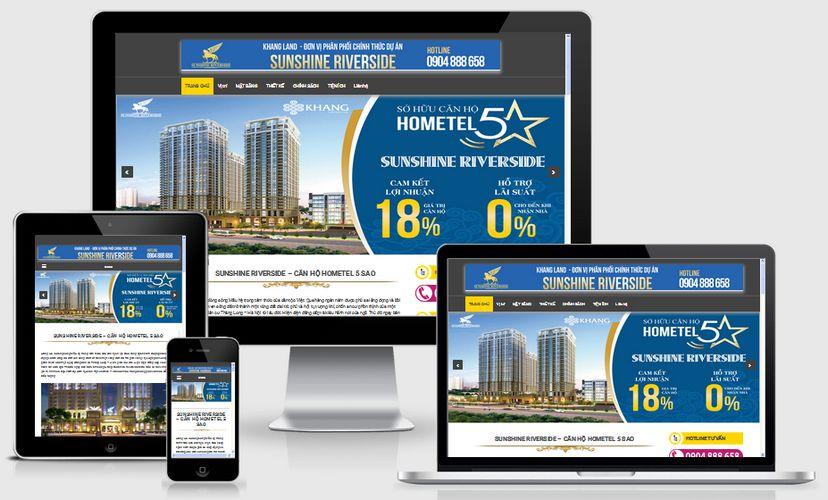 Fullcode website bất động sản sunshine FC134 1