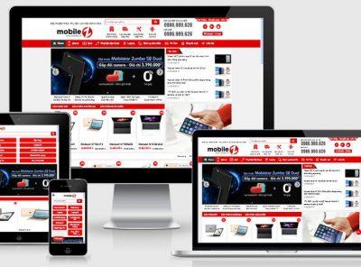 Fullcode website thế giới điện thoại di động FC137 4