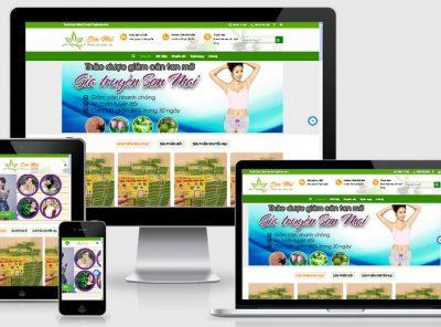 Fullcode website bán thuốc giảm cân FC128 12