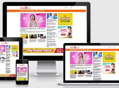 Fullcode website tin tức cực đẹp FC129 18
