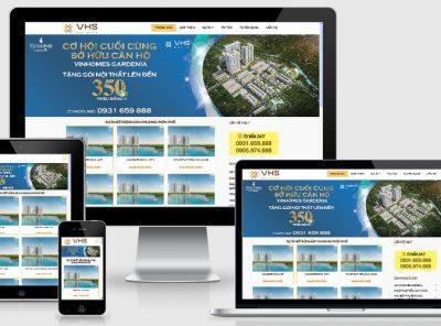 Fullcode website bất động sản vhsland FC135 24