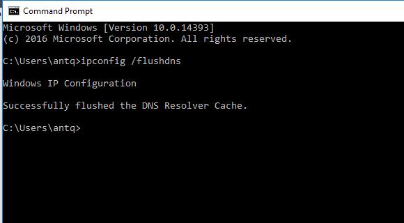 Hướng dẫn xóa cache DNS trên máy tính khi đổi IP tên miền 1