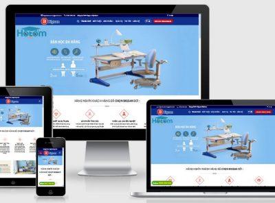 Fullcode website bàn học thông minh đẹp FC148 3