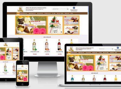 Fullcode website nguyên liệu làm bánh FC158 2