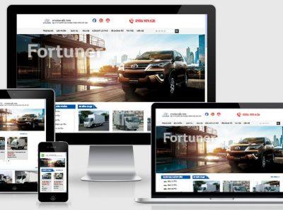 Fullcode website bán xe ô tô tải đẹp FC149 3