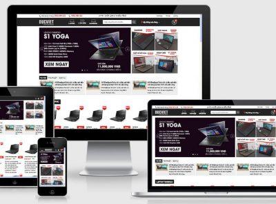 Fullcode website bán laptop máy tính đẹp FC163 2