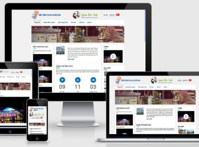 Fullcode website du lịch bắc ninh đẹp FC164 5