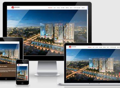 Fullcode website bất động sản Hinodecity FC166 20