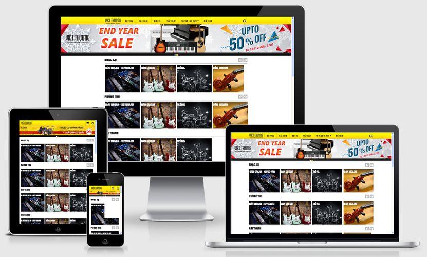 Fullcode website nhạc cụ âm thanh FC167 1