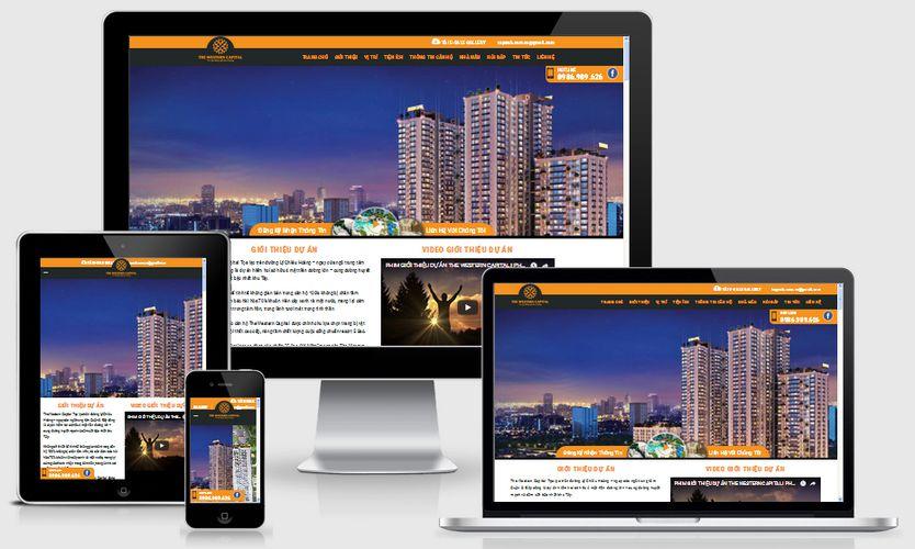 Fullcode website dự án bất động sản căn hộ FC172 1