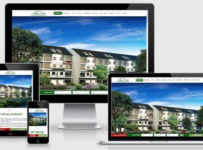 Fullcode website dự án căn hộ khu dân cư FC173 16