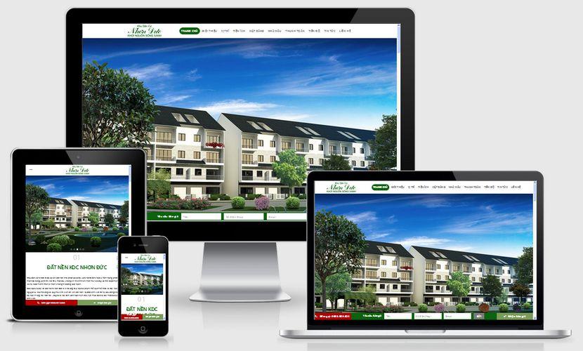 Fullcode website dự án căn hộ khu dân cư FC173 1