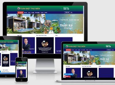 Fullcode website thương hiệu cá nhân bất động sản FC174 15