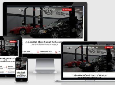 Fullcode website sửa chữa ô tô xe hơi FC162 6