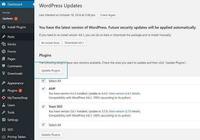 Hướng dẫn bảo mật WordPress toàn tập mới nhất 2018 7