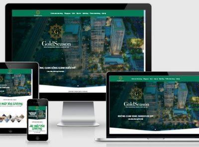 Fullcode website dự án chung cư cao cấp FC185 14