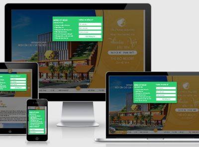 Fullcode website bất động sản nghỉ dưỡng Thuần Việt FC186 13