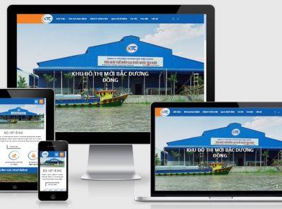 Fullcode website giới thiệu công ty KTC FC187 6