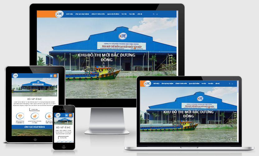 Fullcode website giới thiệu công ty KTC FC187 1