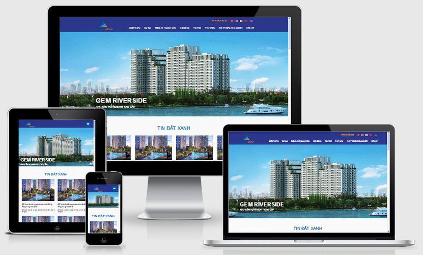 Fullcode website bất động sản đất xanh FC188 1