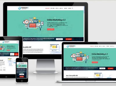 Fullcode website công ty dịch vụ marketing FC196 14