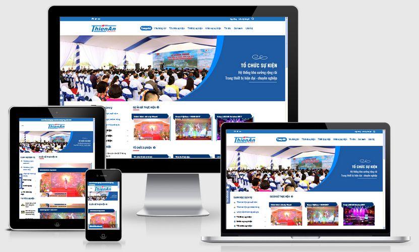 Fullcode website công ty tổ chức sự kiện chuyên nghiệp FC197 1