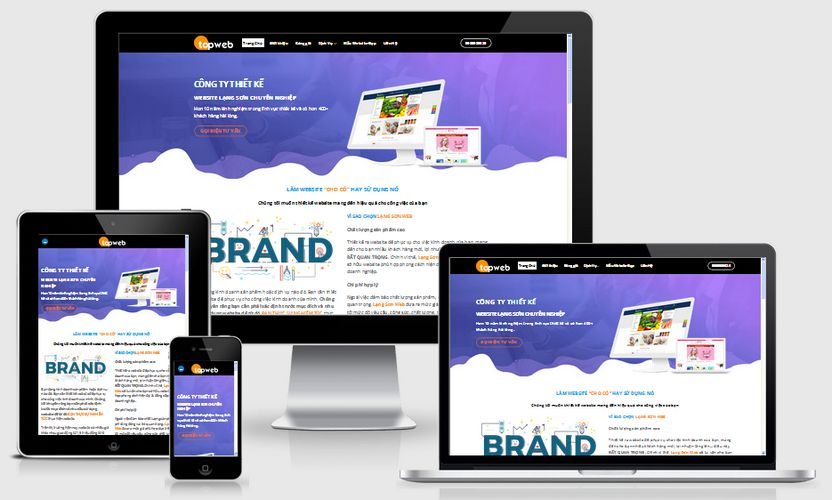 Fullcode website thiết kế website tại Lạng Sơn FC180 1