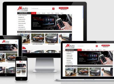 Fullcode website bán phụ kiện đồ chơi ô tô FC201 4