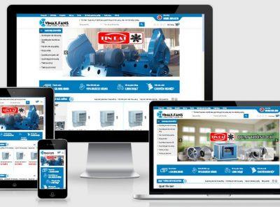 Fullcode website bán quạt công nghiệp giá rẻ FC191 3