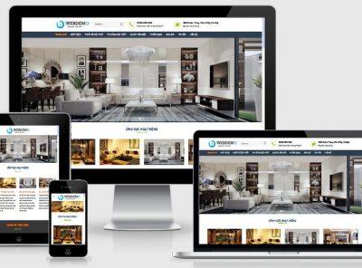 Fullcode website thiết kế thi công nội thất FC204 9