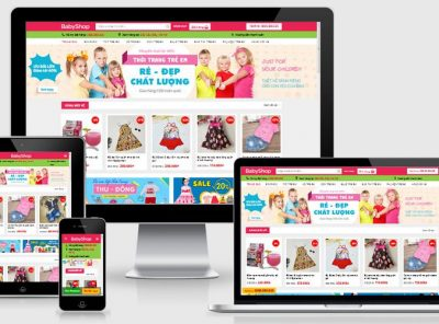 Fullcode website bán đồ trẻ em FC206 4
